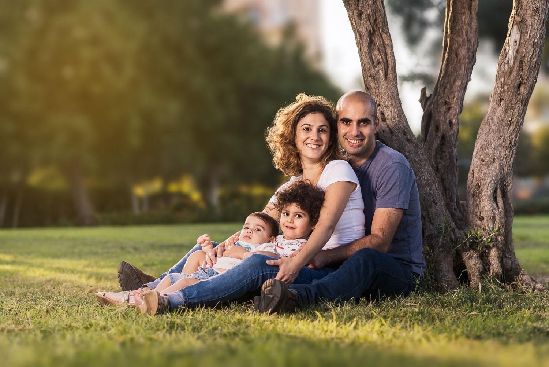 צילומי משפחה משפחת לביא | צלם משפחות אמנון חורש