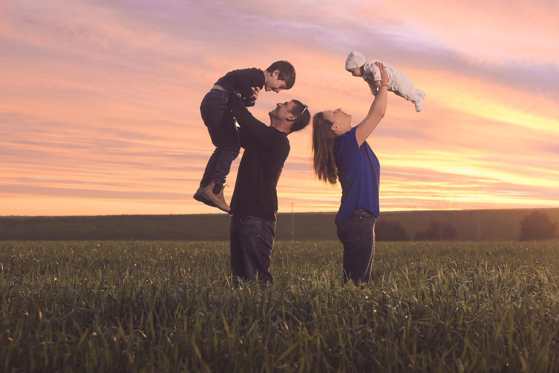 צילומי משפחה משפחת עבו | צלם אמנון חורש